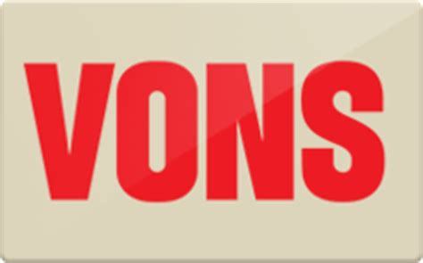 Gift Cards Vons - sell vons gift cards raise