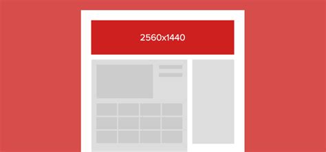 youtube page layout size always up to date social media image sizes sprout social
