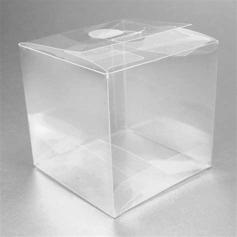 Favor Boxes by Maple Craft Clear Square Favor Boxes 3 Quot Pack Of 12