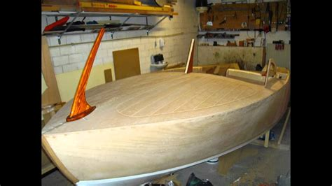 homemade wooden boat plans building homemade 15 wooden runabout youtube