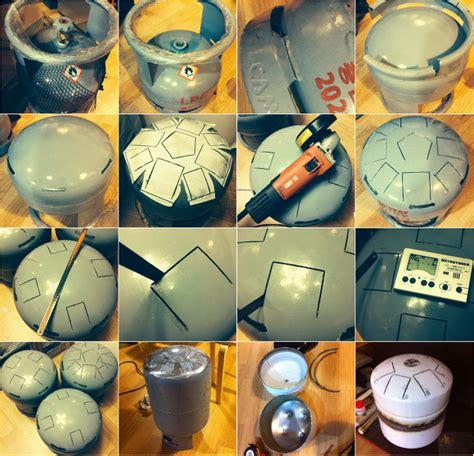 tutorial tank drum popcraft 팝크래프트 tank drum hang drum popcraft my work