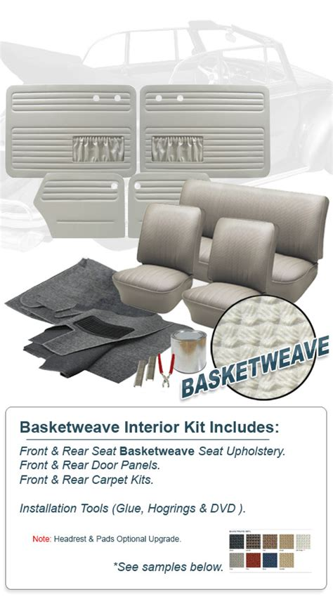 Vw Bug Interior Kit by 1965 Vw Bug Convertible Interior Kits Jbugs