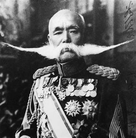 japanese generals why japan historically hates mustaches and all other