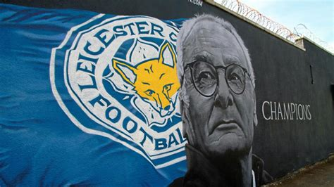 spray painter leicester mural painted as homage to leicester city marca