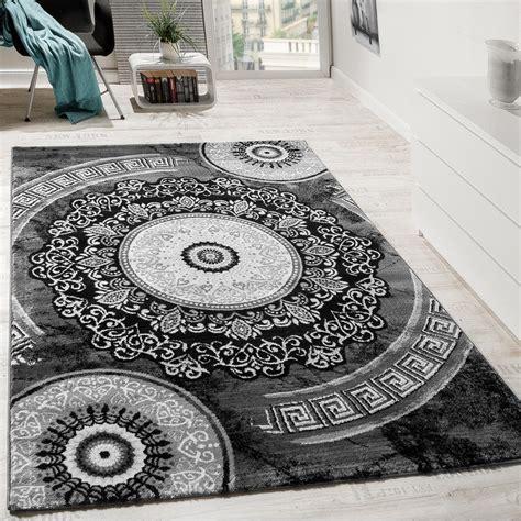 teppiche ornamente designer teppich mit glitzergarn klassisch ornamente