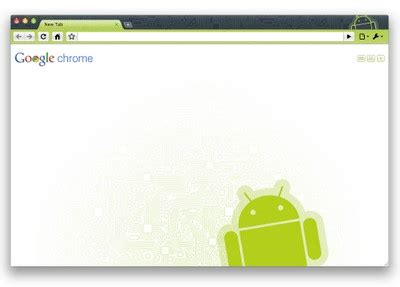 Theme Chrome For Android | un th 232 me android pour chrome