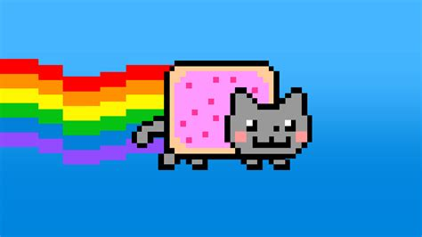 Image Nyan Cat Lost In Space Artwork 1 Jpg Steam Drawing Colour Games L