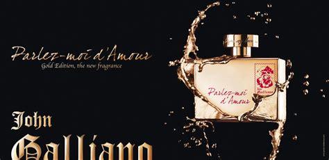 Parfum Original Galliano Parlez Moi Damor Eau Fraiche Edt parlez moi d amour gold edition galliano perfume a new fragrance for 2012