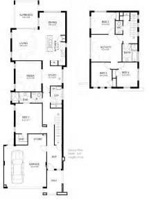 house plans for view lots story corner floor small