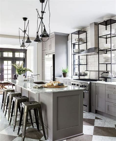 Countertop Stools Kitchen 33 Masculine Kitchen Furniture Ideas That Catch An Eye Digsdigs