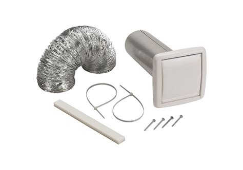 Bathroom Fan Duct Kit Broan Wvk2a N A 4 Quot Duct Wall Ducting Kit For