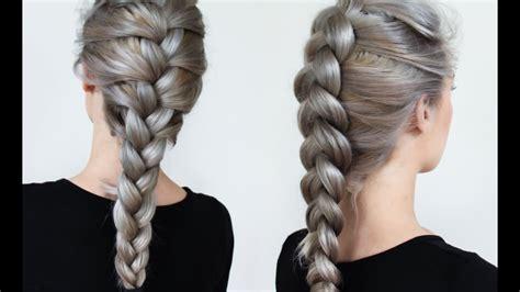 braiding styles three strand braid