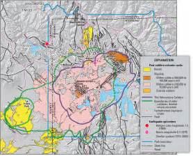 us map yellowstone supervolcanoes will not end earth in 2012 probably
