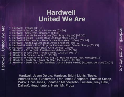 download mp3 album hardwell united we are hardwell united we are 2015 flac eac download