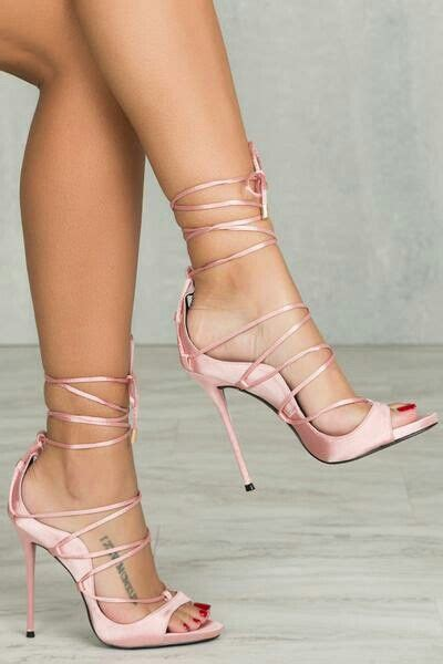 light pink lace up heels lovely lace up light pink sandals ladystyle