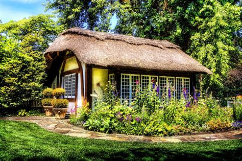 Rural Cottages Free Photo Cottage Rural House Nature Free Image On
