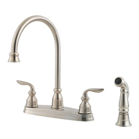 pfister kitchen faucet faucet gt36 4cbs in stainless steel by pfister