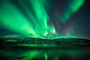 spectacular displays of the northern lights or aurora