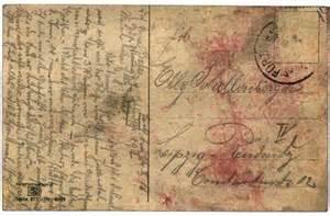 stock illustration vintage postcard with script writing