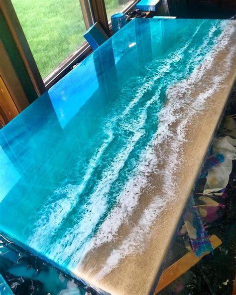 fabulous  epoxy resin wood tables amazing diy interior home design