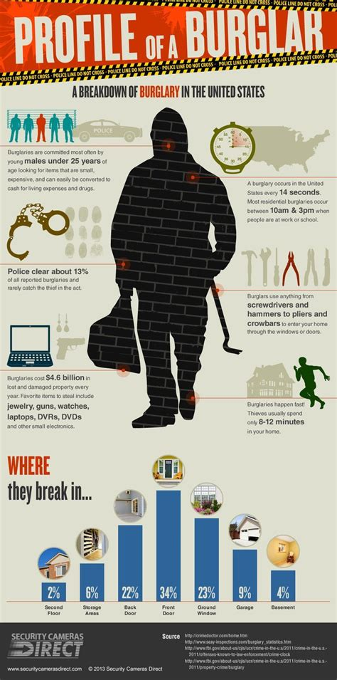 profile of a burglar burglary in the united states