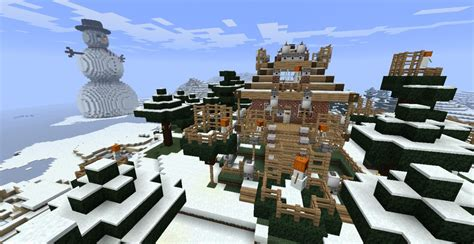 winter house winter house minecraft project