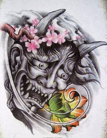 手稿素材 凄美传说 般若刺青素材大全 纹身堂