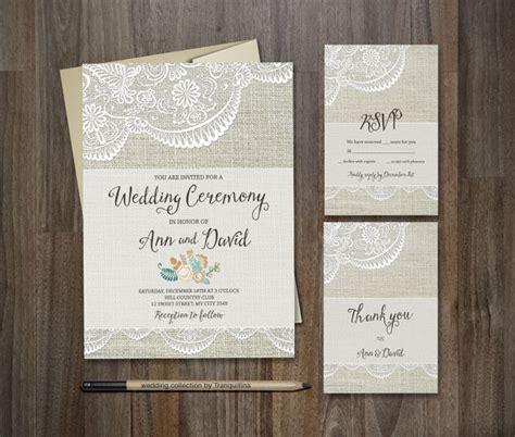 printable stationery invitations rustic wedding invitation diy printable wedding