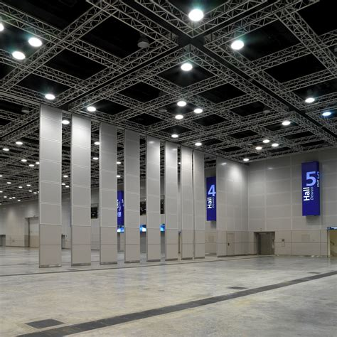 Sliding Glass Walls by Exhibition Halls
