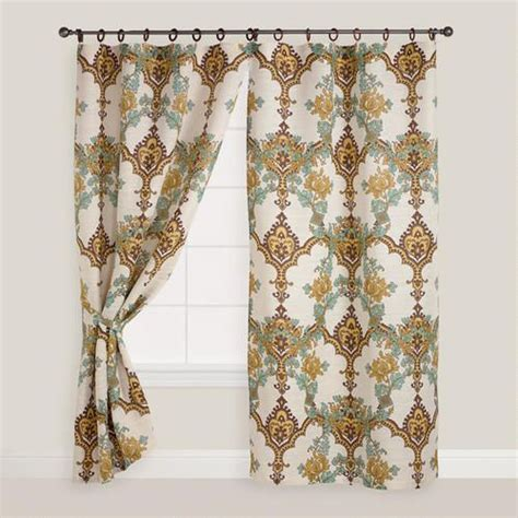 cost plus curtains angeline jute ring top curtain guest bedrooms accent