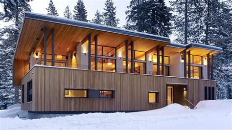 modern home exteriors mountain home plans modern cabins modern rustic home