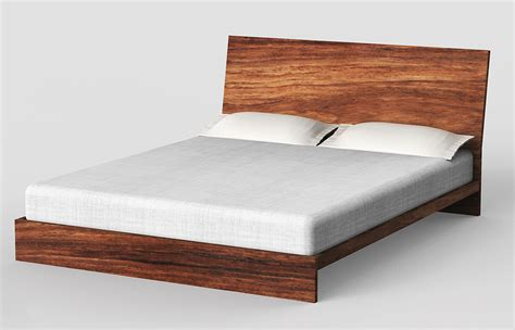 Handmade Timber Beds - custom wooden beds headboards parota modern designs mexico