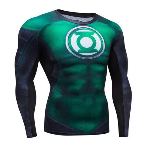 green lantern compression shirt for sleeve i am