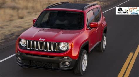 Does Fiat Own Jeep Fiat Shows Italian Jeep Renegade Autoedizione