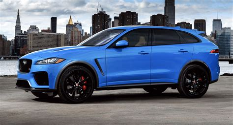 Jaguar Svr 2019 by 2019 Jaguar F Pace Svr Packs A 542hp Supercharged V8