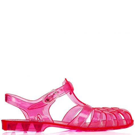 jelly flat shoes buy waterside flat jelly sandal shoes pink