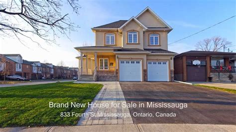 5 Bedroom House For Sale In Mississauga by Tour Of Brand New House For Sale In