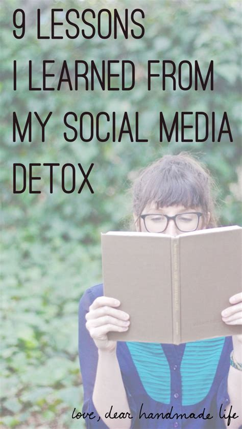 Social Media Detox Week by Why You Need To Take A Social Media Part Ii Dear