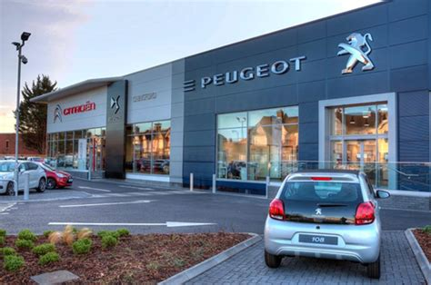 peugeot car dealership new citroen peugeot and ds dealership opens in chingford