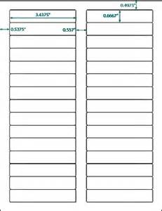 avery 5066 template 600 compulabel 174 white blank printable file folder labels