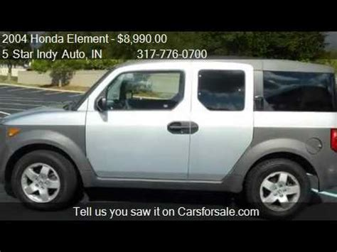 honda element manual for sale 2004 honda element 2wd ex manual w side airbags for sale