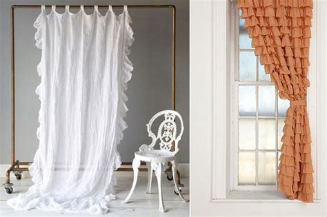 ruffled country style curtains country style look with ruffled curtains drapery room ideas