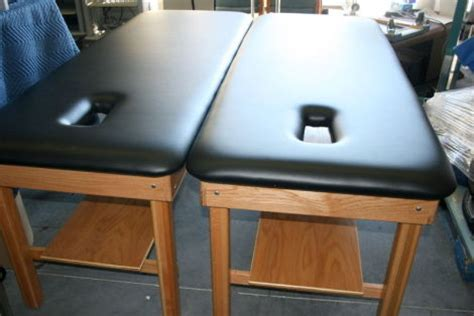 physical therapy table used used medcraft pt chiro table physical therapy table for