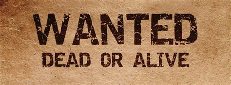 tutorial wanted dead or alive western facebook covers wanted wanted dead or alive
