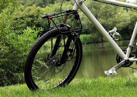 Front Bike Pannier Rack by All About Front Racks For Bicycle Touring Cyclingabout