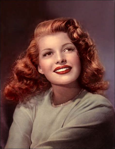 red head actress from 1940s 1940 s inspired on pinterest 1940s 1940s hair and rita