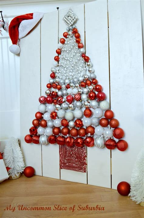 diy christmas tree ornament display my uncommon slice of