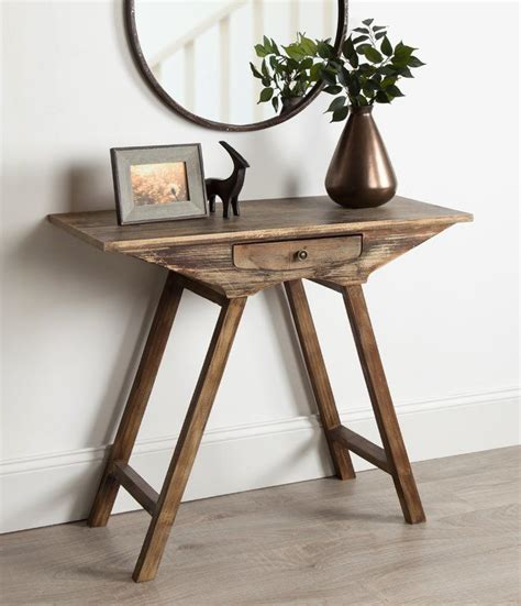 pringle chic small wooden console table  images