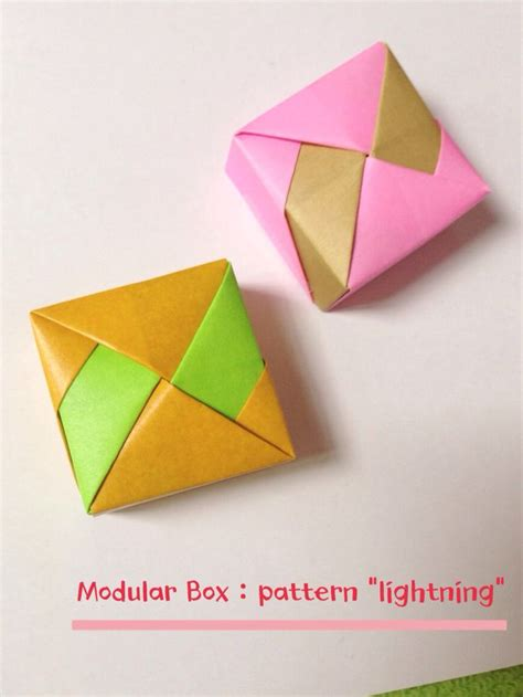Modular Box Origami - 207 best dear origami images on origami paper