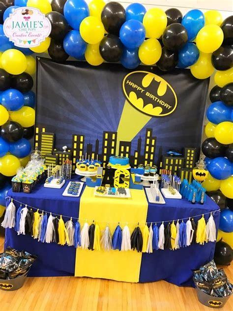batman birthday party theicedsugarcookiecom images  pinterest batman birthday